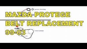 1999 2000 2001 2002 2003 Mazda Protege Belt Replacement