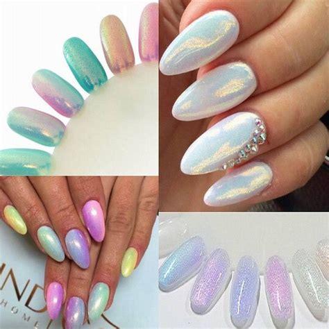 glitzer zum aufkleben neu mermaid nail hologramm glitzer pulver puder glitterstaub nageldesign ebay nails