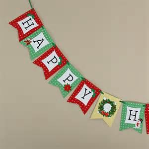 Happy Holidays Banner Printable