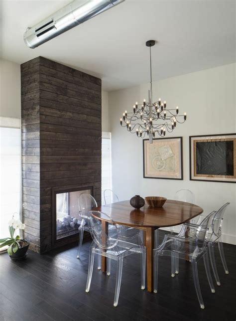 chaise pour salle a manger chaises transparentes pour une salle à manger contemporaine