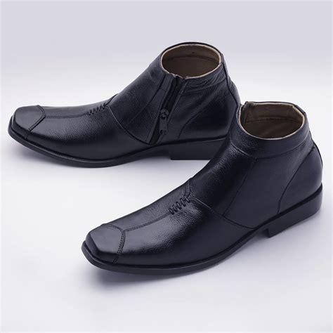 Jual Sepatu Pria Sepatu jual sepatu boot pria formal pantofel resleting sepatu