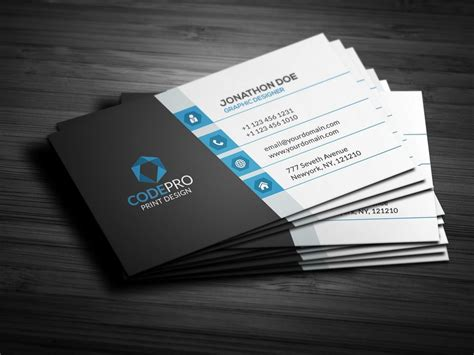 create  professional highest quality business card design