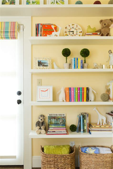 Nursery Bookshelves  Transitional  Nursery  Nifelle Design