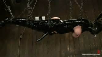 Latex Bondage Forced Orgasm