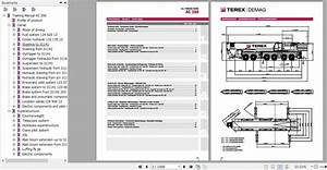 Terex Demag Crane Full Model Service Technical Training Manual  Diagram And Operation Manual