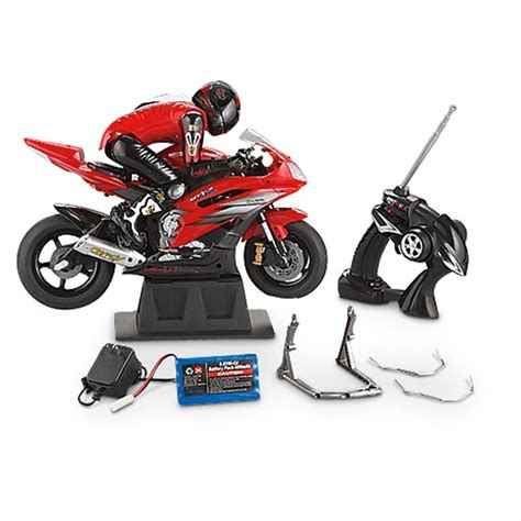 Radio - controlled Motorcycle - 212117, Remote Control ...
