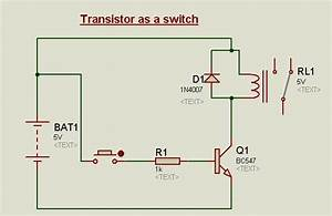 Transistor Circuits In Proteus