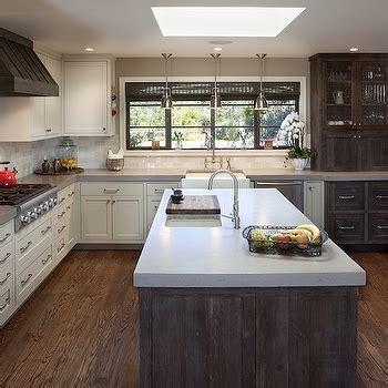 Grey Quartz Countertops   Transitional   kitchen   Carla