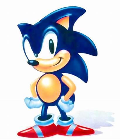 Sonic Hedgehog Artwork Official Classic Continue Hedgehogs