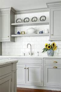Best 25 gray kitchen cabinets ideas only on pinterest for Kitchen cabinet trends 2018 combined with wall art bamboo