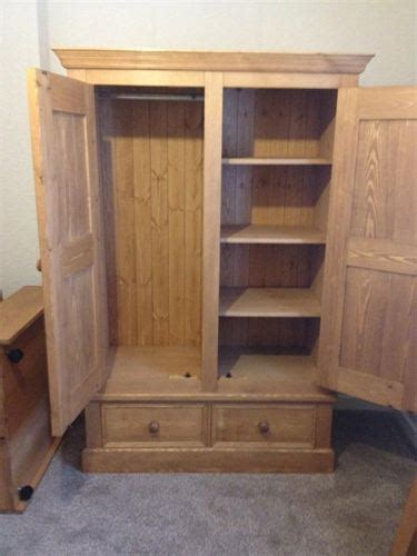 Wardrobe With Shelves by Huddersfield Pine Furniture Wardrobes