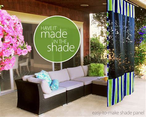 outdoor hanging shade screen fabric depot sew4home