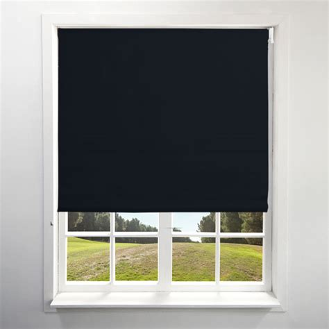 black out blinds blackout black roller blind harry corry limited
