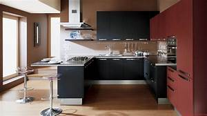 modern small kitchen design psicmusecom With beautiful and simple contemporary kitchen cabinets design ideas