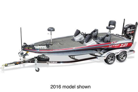 Bass Boat Interest Rates by New 2017 Nitro Z21 Power Boats Outboard In Gaylord Mi