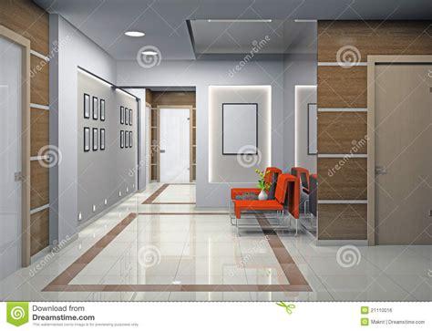 hallway bureau un bureau moderne image libre de droits image 21110016