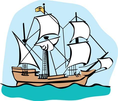 Cartoon Mayflower Boat by Mayflower Clip Art Cliparts Co