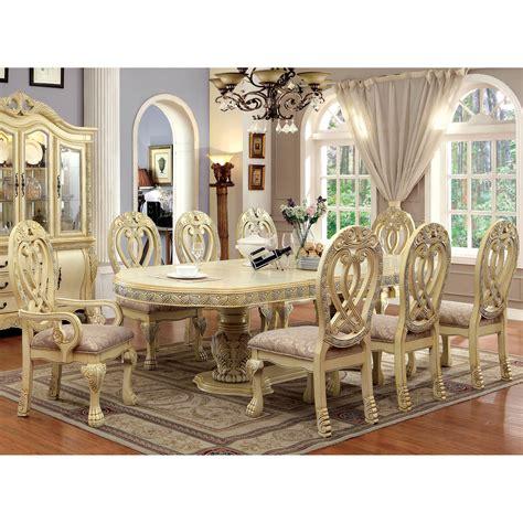 furniture of america moka traditional solid wood 7
