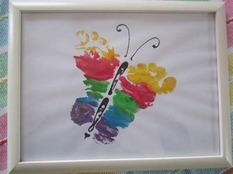 handabdruck baby welche farbe kinder baby fu 223 abdr 252 cke deko geschenk idee diy chicmomy