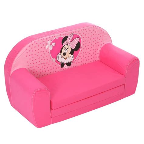 canape enfants minnie canapé mousse sofa disney baby minnie achat