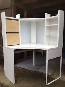 ikea micke corner desk white ebay