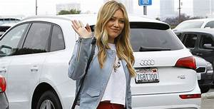 Hilary Duff Rocks Out To Her Own Music In Her Car | Hilary ...