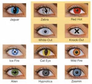 Halloween Contacts Prescription by Colored Contacts
