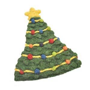 peruvian trading company christmas tree beanie hat beanies