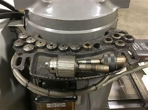 bridgeport ez trak dx  axis cnc vertical milling machine  kurt vise books precision