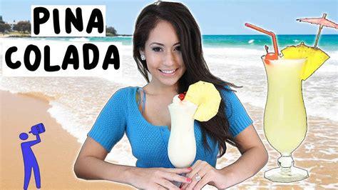 how to make a pina colada how to make pina colada in 5 minutes