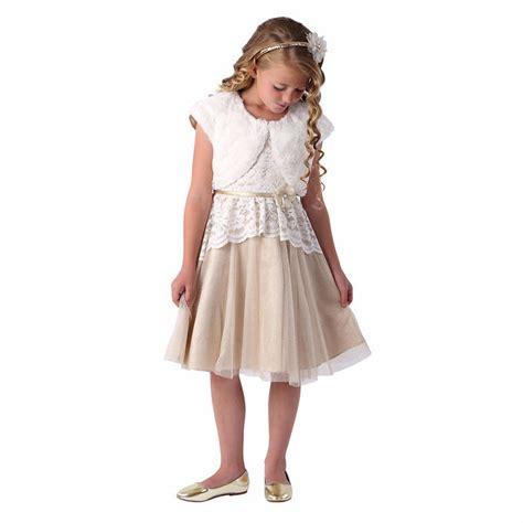 jona michelle girls holiday dress gold shop fowarding