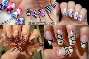 19 Best And Easy Flower Nail Art Designs - Latest Nail Art ...