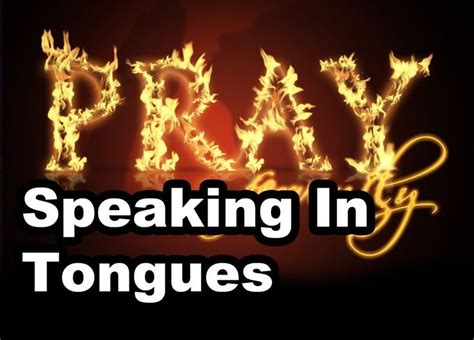 25+ Best Ideas About Speaking In Tongues On Pinterest