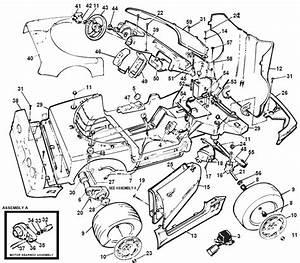 Power Wheels Barbie Corvette Parts
