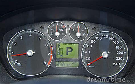 car control panel stock image image