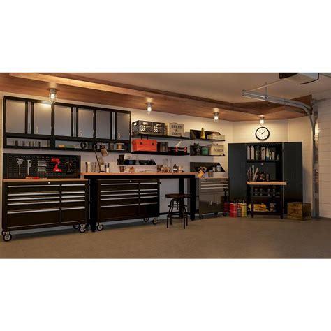 husky black pegboard  wall   tool cabinet