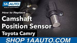 How To Replace Camshaft Position Sensor 02