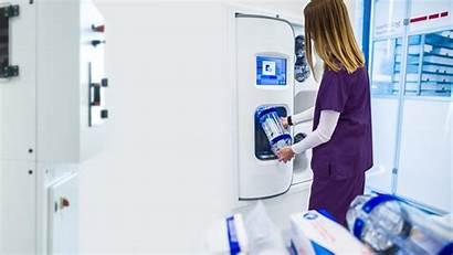 Swisslog Pneumatic Tube System Translogic Healthcare Station