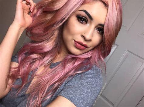 Ion Rose Quartz + Flamingo Semi Permanent Hair. Pink Rose