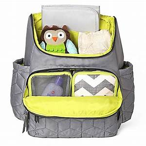 SKIP*HOP® Forma Backpack Diaper Bag in Grey - buybuy BABY