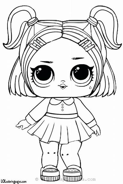 Lol Dolls Coloring Pages Doll Colorat Sheets