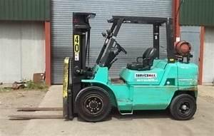 Mitsubishi Fg35 Fg40 Forklift Trucks Service Repair