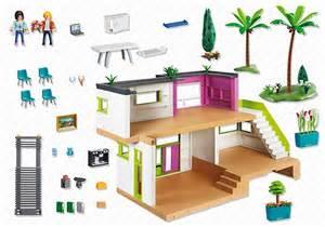 maison moderne playmobil 5574 villa de luxe moins ch 232 re