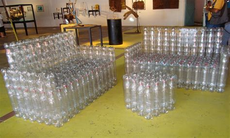 Recycled Patio Furniture Plastic Bottle Furniture Flowers
