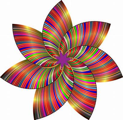 Colorful Flower Clipart Line Clipground Cliparts Gdj