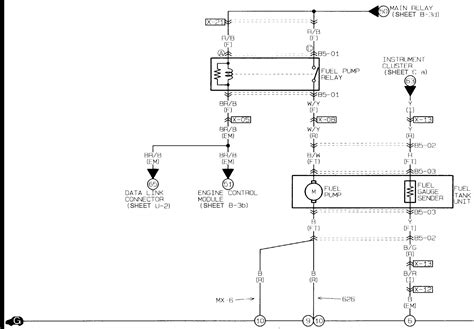 2001 Mazda 626 Fuel Wiring Diagram by Where Is The Inertia Switch Located On A 1995 Mazda 626