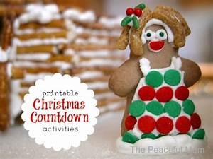 It s Time for the Christmas Countdown free printables