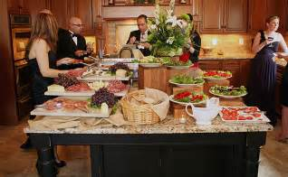 Catering Dinner Party at Home