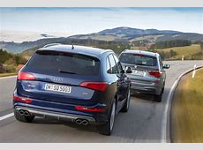 BMW X3 xDrive35d vs Audi SQ5 TDI by AutoMotorUndSport