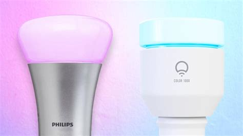 the best smart light bulbs of 2018 pcmag